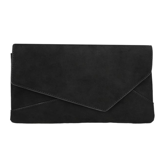 Černé asymetrické psaníčko bata, černá, 969-6665 - 17