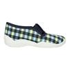 Dětská domácí obuv mini-b, vícebarevné, modrá, 379-0213 - 15