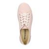 Dámské kožené tenisky weinbrenner, růžová, 526-5644 - 15