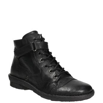 Kotníčková dámská obuv bata, černá, 596-6656 - 13