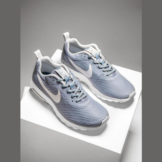 Dámské modré tenisky nike, modrá, 509-2257 - 19