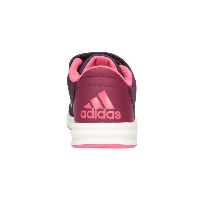 Fialové dětské tenisky adidas, fialová, 301-5194 - 16