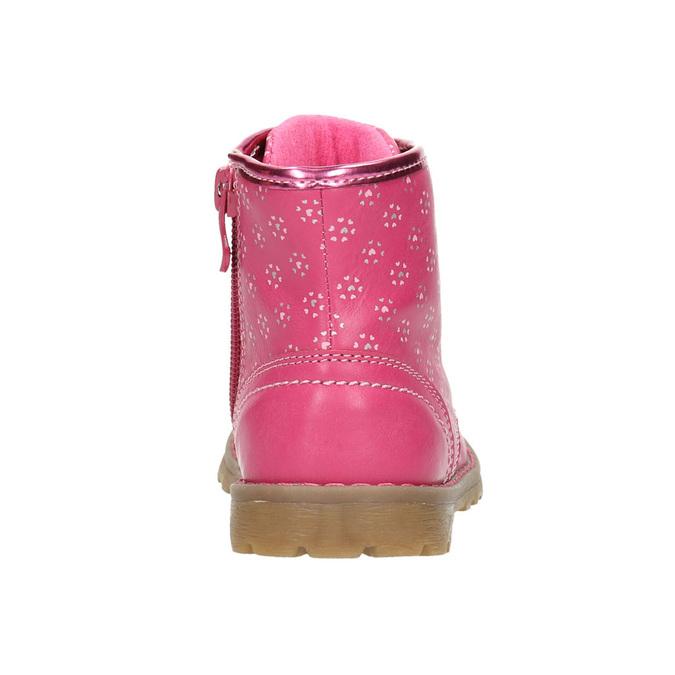 Růžová kotníčková obuv bubblegummers, růžová, 221-5606 - 17