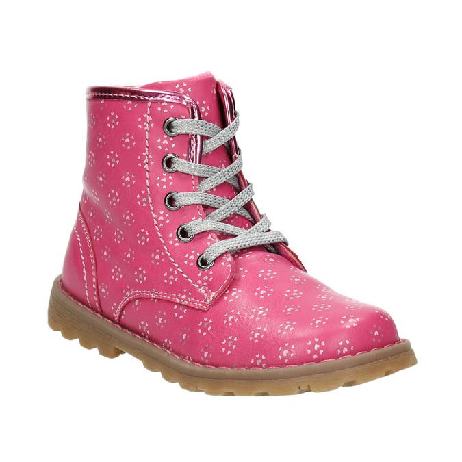 Růžová kotníčková obuv bubblegummers, růžová, 221-5606 - 13