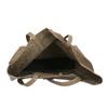 Dámská kožená kabelka s mašlí bata, hnědá, 964-2122 - 15