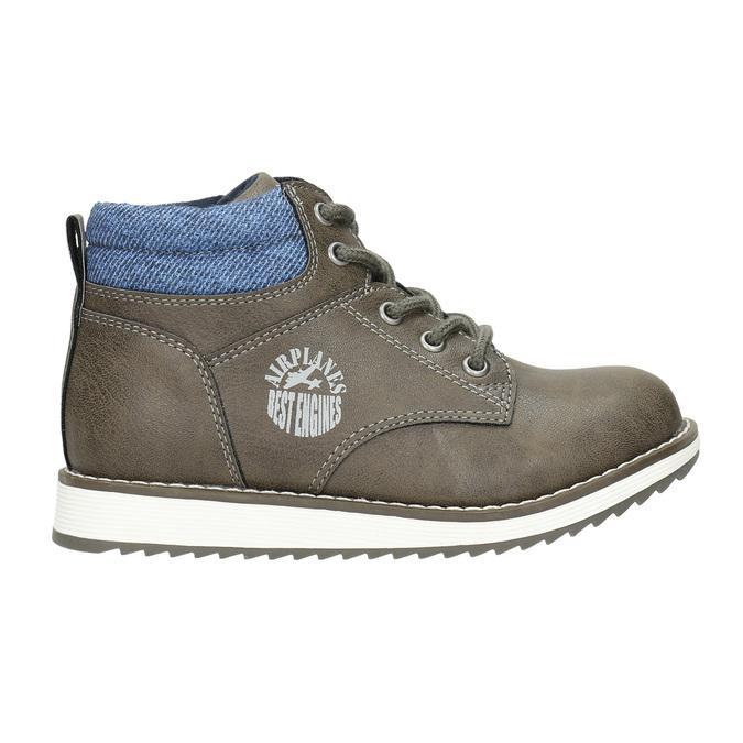 Chlapecká kotníčková obuv mini-b, hnědá, 211-3623 - 15