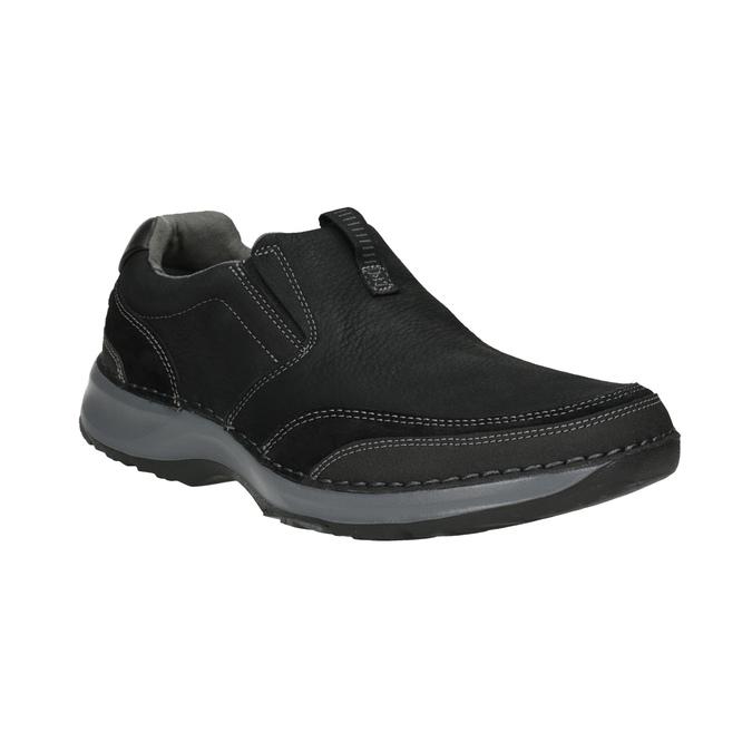 Kožené pánské Slip-on rockport, černá, 816-6048 - 13