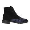 Kotníčková kožená obuv classico-and-bellezza, vícebarevné, 526-0028 - 26
