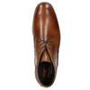 Kožená kotníčková obuv fluchos, hnědá, 826-3086 - 26