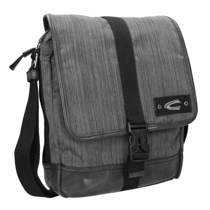 Šedá Crossbody taška s žíháním camel-active-bags, šedá, 969-2037 - 13
