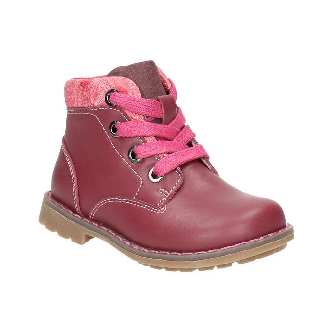 Dívčí kotníčková obuv bubblegummers, růžová, 124-5601 - 13