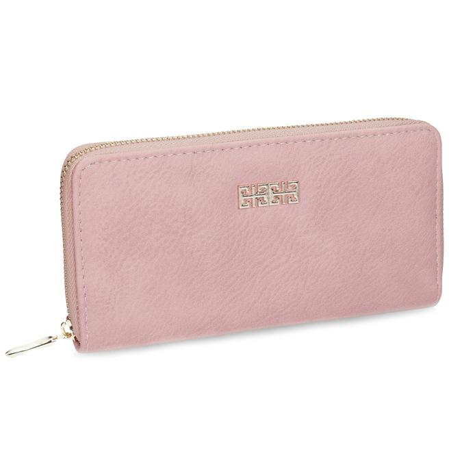 růžová dámská peněženka bata, růžová, 941-0180 - 13