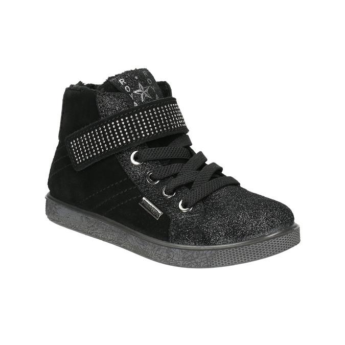 Kotníčkové dětské tenisky mini-b, černá, 323-6172 - 13