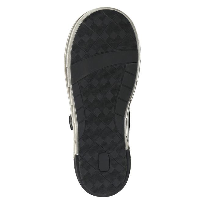 Kotníčková dětská obuv na suché zipy mini-b, šedá, 211-2624 - 19