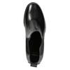 Dámská kožená kotníčková obuv bata, černá, 694-6641 - 26