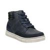Kotníčková dětská obuv na zip mini-b, modrá, 311-9611 - 13