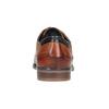 Ležérní kožené polobotky bugatti, hnědá, 826-3008 - 16