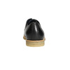 Kožené polobotky s ležérní podešví bata, černá, 824-6412 - 17