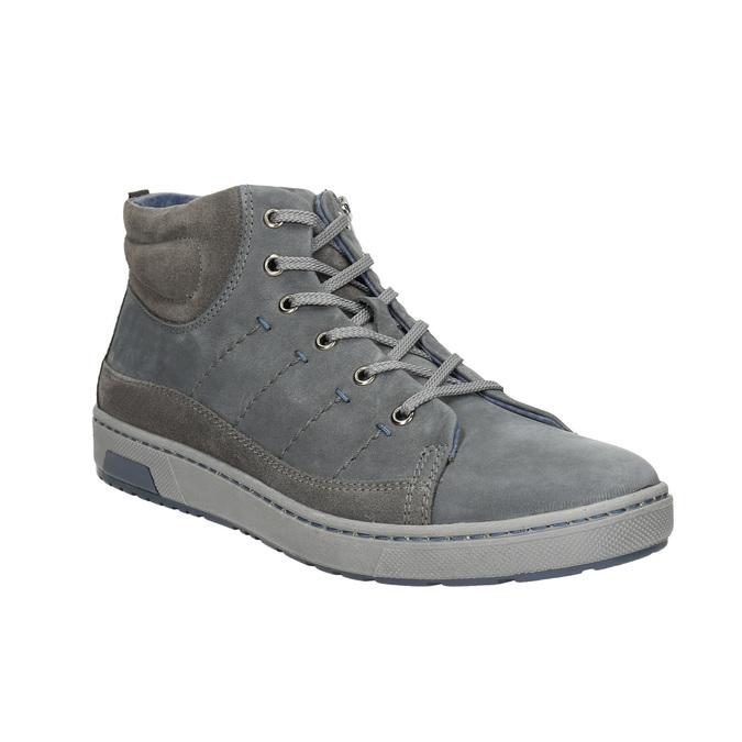 Pánské kotníčkové tenisky bata, šedá, 846-2651 - 13