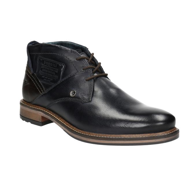 Pánské kožené Chukka Boots bugatti, modrá, 826-9007 - 13