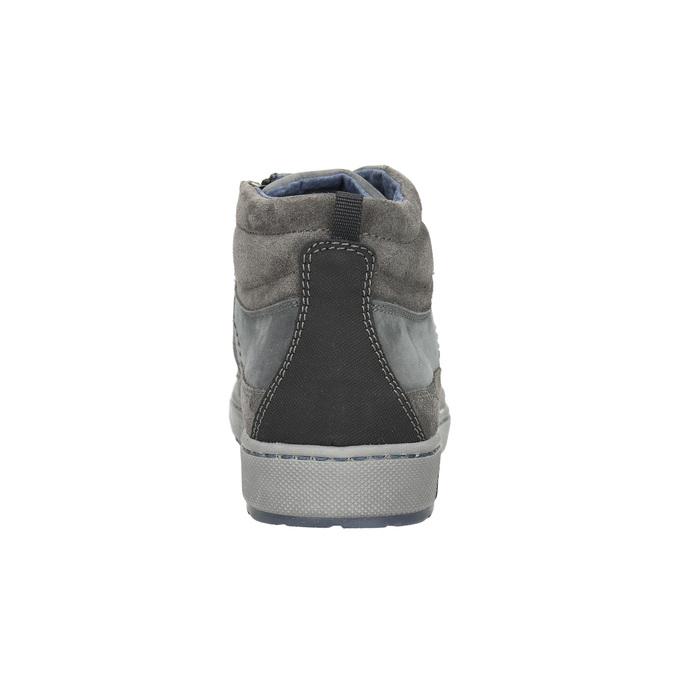 Pánské kotníčkové tenisky bata, šedá, 846-2651 - 17