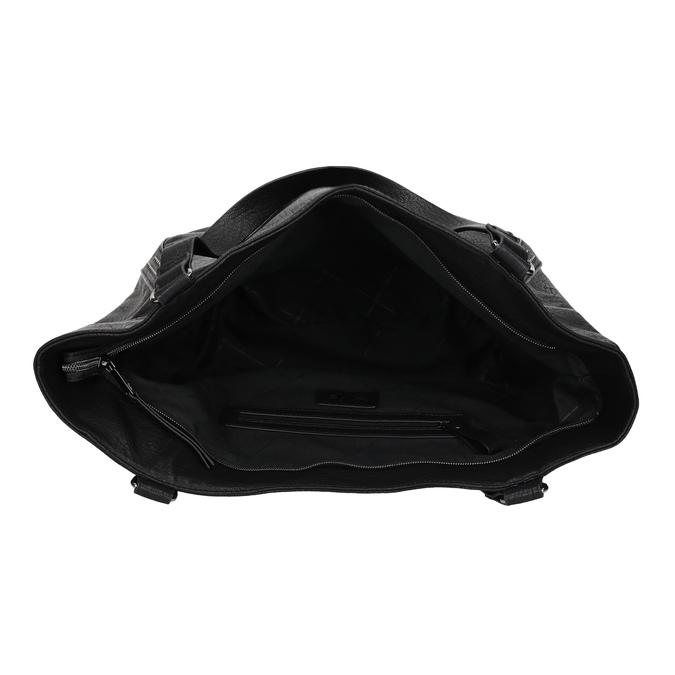 Dámská černá kabelka se cvoky bata, černá, 961-6787 - 15