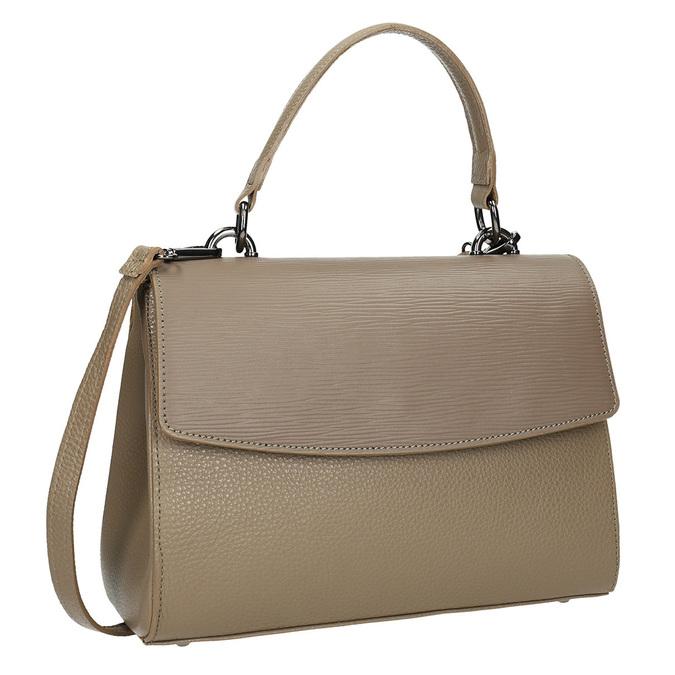 Kožená dámská kabelka bata, béžová, 964-8248 - 13