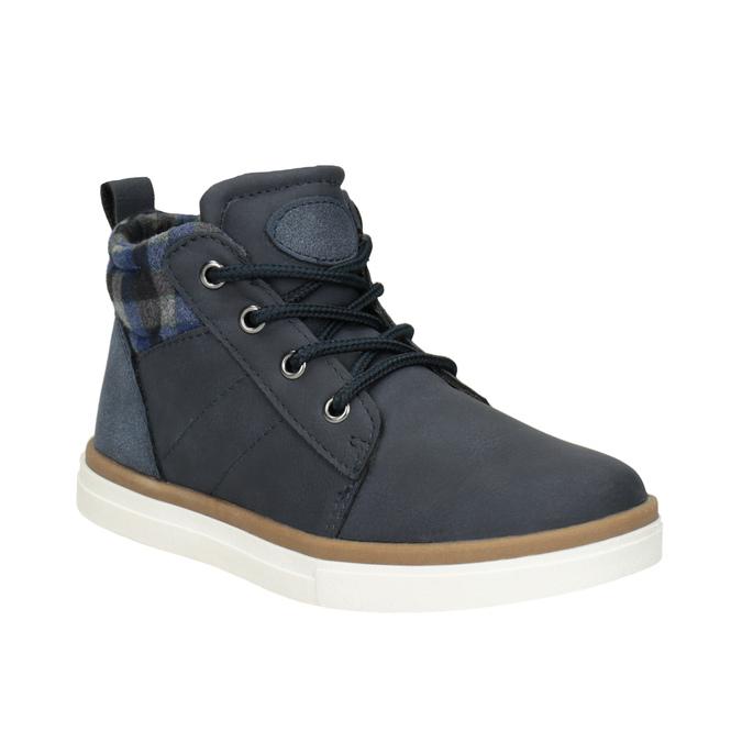 Dětská kotníčková obuv mini-b, modrá, 291-9172 - 13