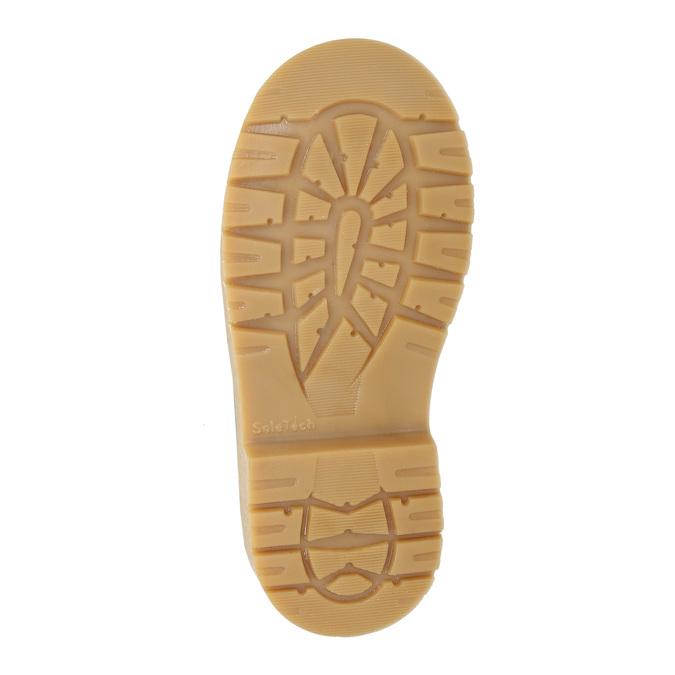 Dětská kožená kotníčková obuv weinbrenner-junior, modrá, 216-9200 - 17