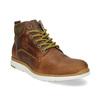 Kožená pánská kotníčková obuv bata, hnědá, 846-3645 - 13