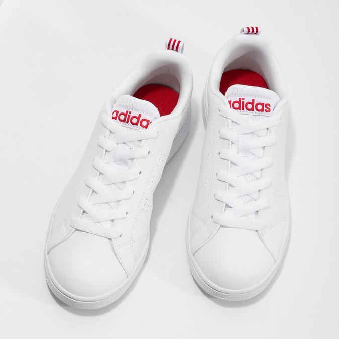 Bílé dámské tenisky adidas, bílá, 501-5500 - 16