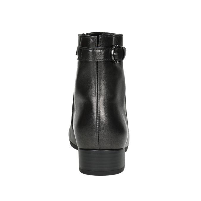 Kožená kotníčková obuv gabor, 616-4008 - 16