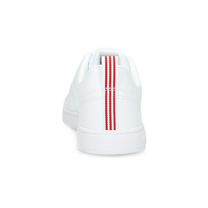Bílé dámské tenisky adidas, bílá, 501-5500 - 15
