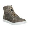Dětská kotníčková obuv kožená bullboxer, šedá, 494-8023 - 13