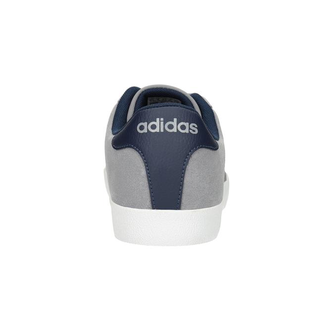 Šedé kožené tenisky adidas, šedá, 803-7197 - 16