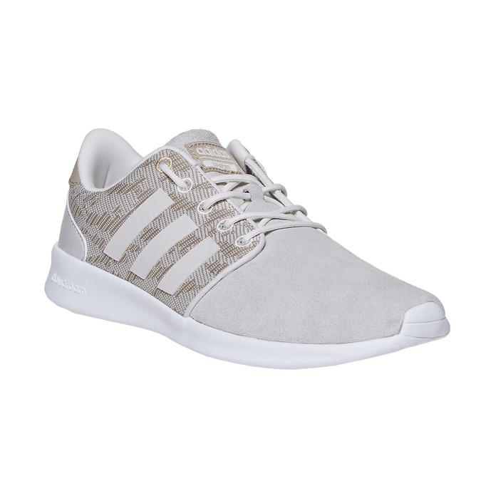 Dámské tenisky se vzorem adidas, béžová, 503-3111 - 13