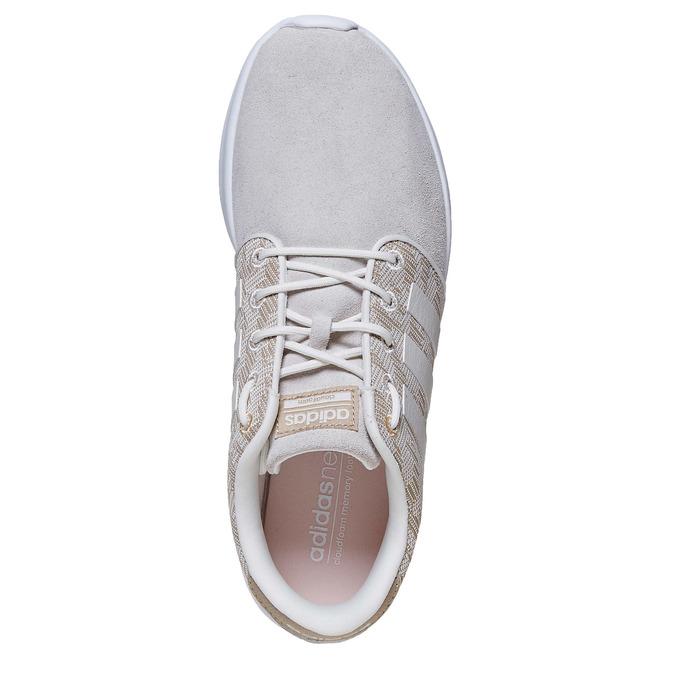 Dámské tenisky se vzorem adidas, béžová, 503-3111 - 19