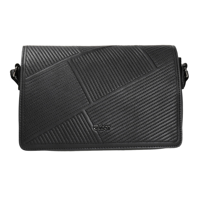 Černá Crossbody kabelka gabor-bags, černá, 961-6035 - 26