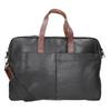 Kožená pánská aktovka bugatti-bags, černá, 964-6019 - 16
