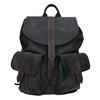 Batoh s prošívanými pásky bata, černá, 969-6154 - 26