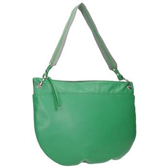 Zelená kožená kabelka bree, zelená, 964-7029 - 13