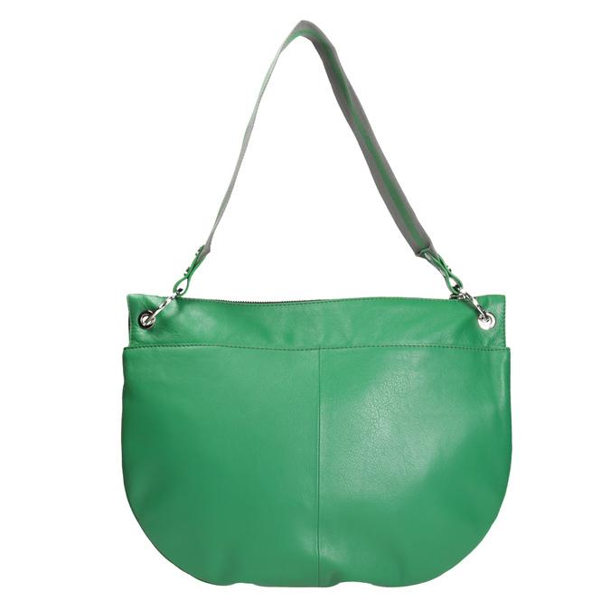 Zelená kožená kabelka bree, zelená, 964-7029 - 16
