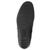 Kožená kotníčková obuv s přezkou comfit, černá, 696-4622 - 19