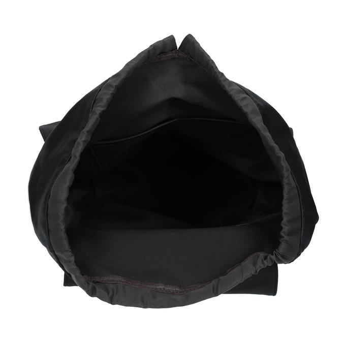 Batoh s prošívanými pásky bata, černá, 969-6154 - 15