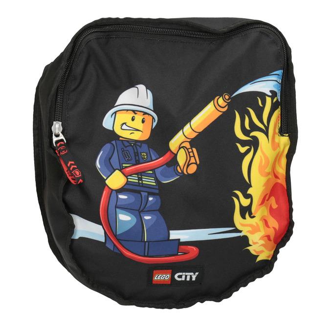 Školní aktovka s pevným dnem lego-bags, černá, 969-6008 - 19