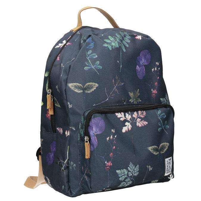 Modrý batoh s potiskem the-pack-society, modrá, 969-9085 - 13