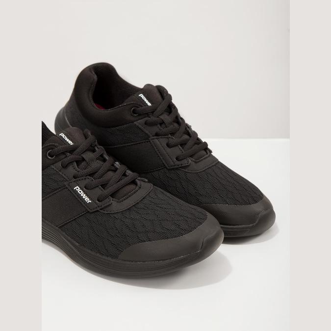 Dámské černé tenisky power, černá, 509-6203 - 18