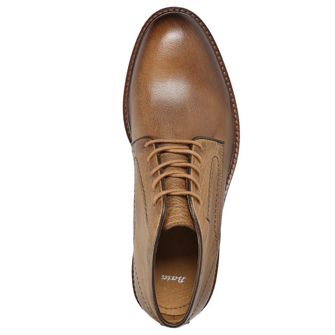 Pánské kožené Chukka Boots bata, hnědá, 826-2919 - 15