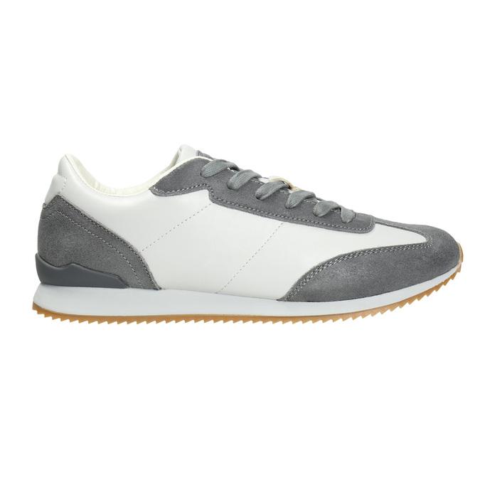 Pánské ležérní tenisky, šedá, 801-2180 - 26