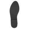 Kozačky nad kolena z broušené kůže bata, černá, 593-6605 - 19